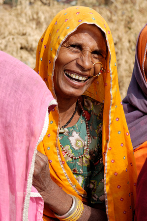 A brilliant smile on the road to Jaipur, India
